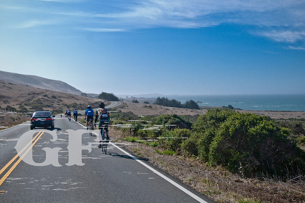 Beautiful views on the GranFondo
